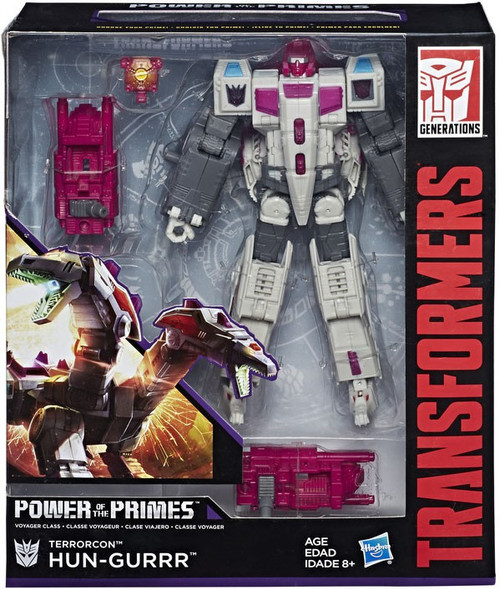 Transformers Generations Power of the Primes Terrorcon Hun-Gurrr Voyager Action Figure [Damaged Package]