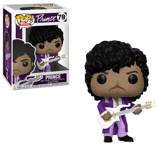 Funko POP! Rocks Prince Vinyl Figure #79 [Purple Rain, Damaged Package]