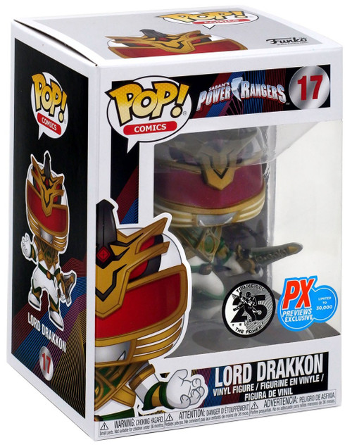 Funko Power Rangers POP! TV Lord Drakkon Exclusive Vinyl Figure [Damaged Package]