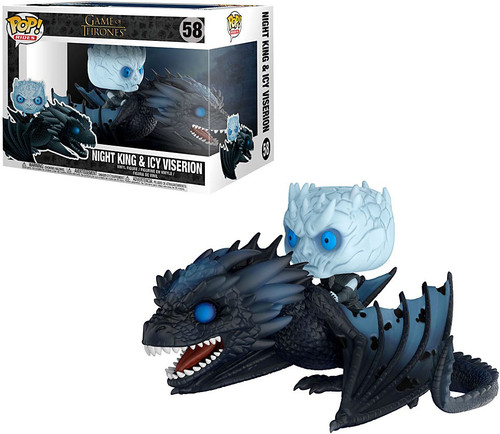 Funko Game of Thrones POP! Rides Night King & Icy Viserion Vinyl Figure #58 [Damaged Package]