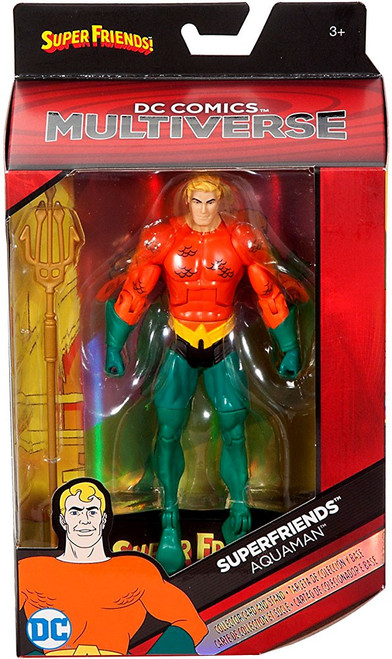 DC Superfriends Multiverse Aquaman Action Figure [Superfriends, Damaged Package]