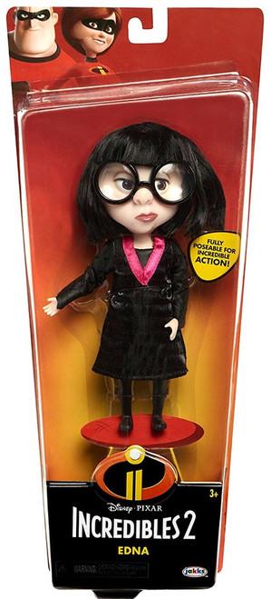 Disney / Pixar Incredibles 2 Edna 6-Inch Doll [Black Dress, Damaged Package]