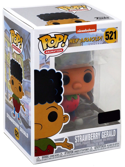 Funko Nickelodeon 90's Nick POP! Animation Strawberry Gerald Exclusive Vinyl Figure #521 [Damaged Package]