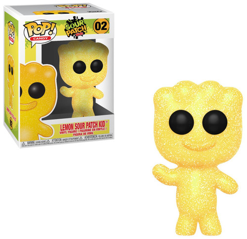 Funko Sour Patch Kids POP! Candy Lemon Sour Patch Kid Vinyl Figure #02