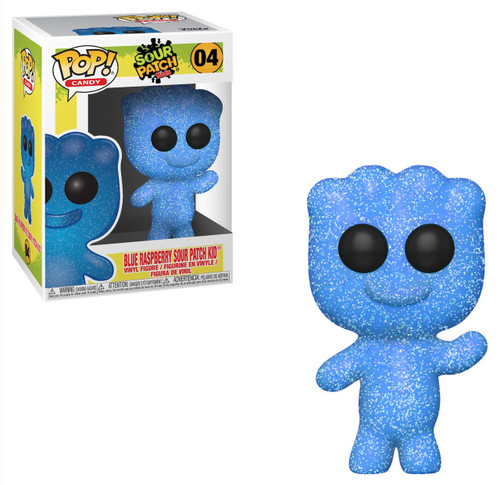 Funko Sour Patch Kids POP! Candy Blue Raspberry Sour Patch Kid Vinyl Figure #04