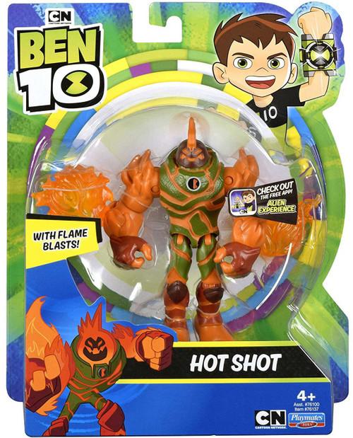 Ben 10 Basic Hot Shot Action Figure
