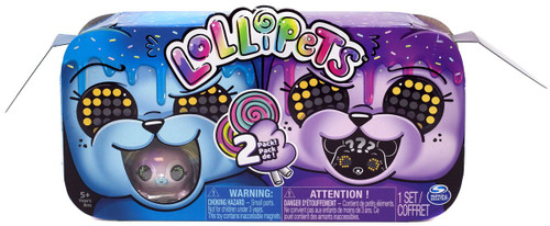 Lollipets BLUE & PURPLE Mystery 2-Pack