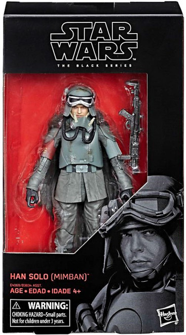 Star Wars Black Series Wave 31 Han Solo Action Figure [Mudtrooper]