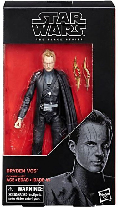 Star Wars Solo Black Series Wave 31 Dryden Vos Action Figure