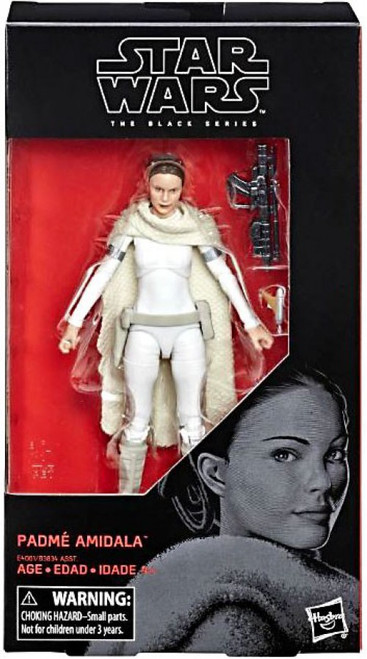 Star Wars Attack of the Clones Black Series Wave 31 Padme Amidala Action Figure