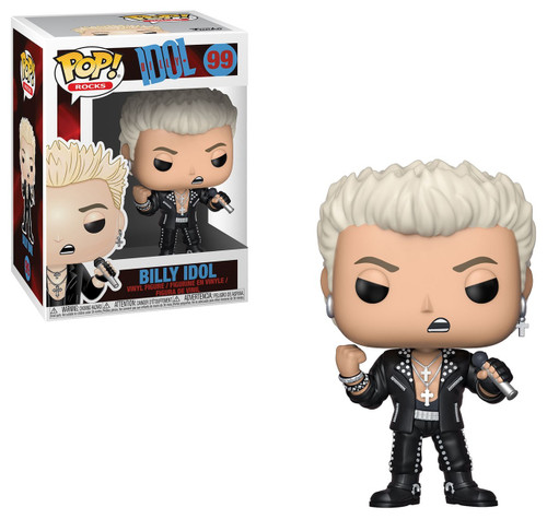 Funko POP! Rocks Billy Idol Vinyl Figure #99