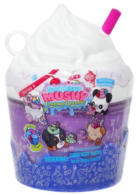 Smooshy Mushy Creamy Dreamy Smooshy Surprises! Series 4 PURPLE Mystery Pack
