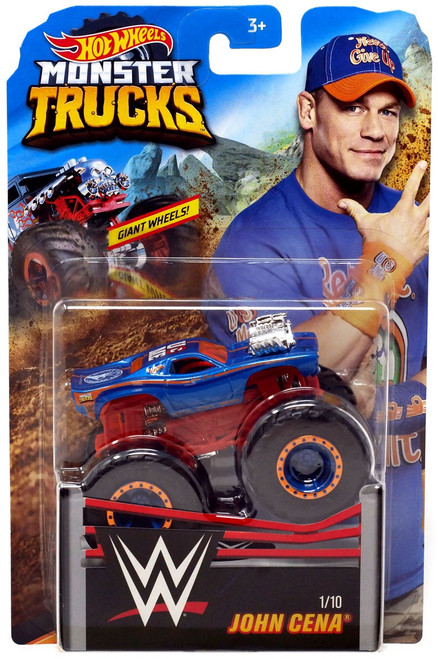 Hot Wheels Monster Trucks WWE John Cena Diecast Car