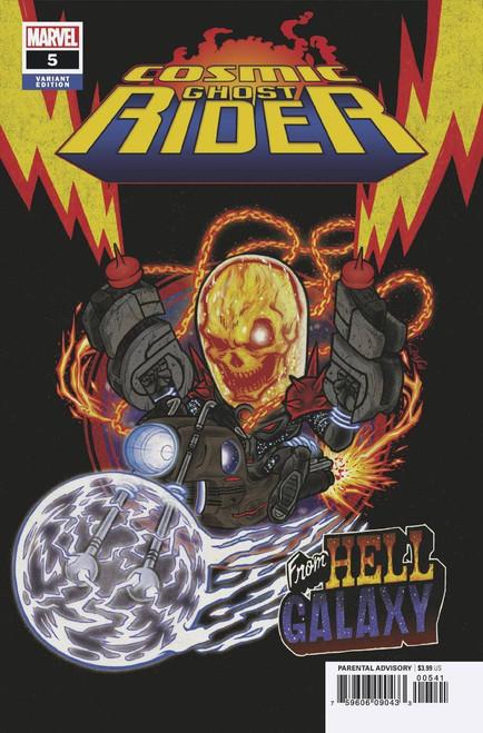 Marvel Comics Cosmic Ghost Rider #5 of 5 Comic Book [Superlog Variant Cover]