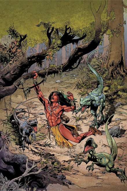 Dynamite Entertainment Turok #1 Comic Book [Roberto Castro Virgin Cover]