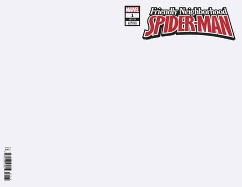 Marvel Comics Friendly Neighborhood Spider-Man #1 Comic Book [Blank Variant]
