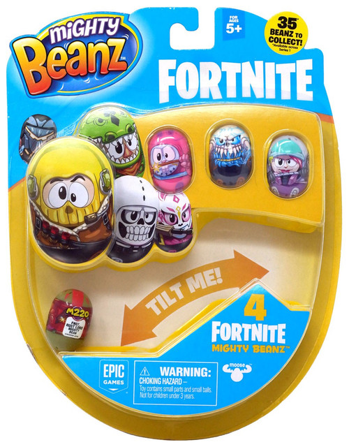 Mighty Beanz Fortnite Rust Lord 4-Pack