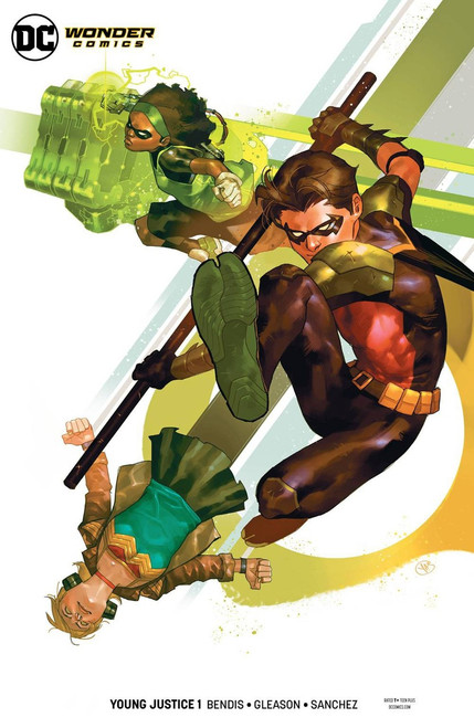 DC Young Justice #1 Comic Book [Putri Robin Variant Cover]