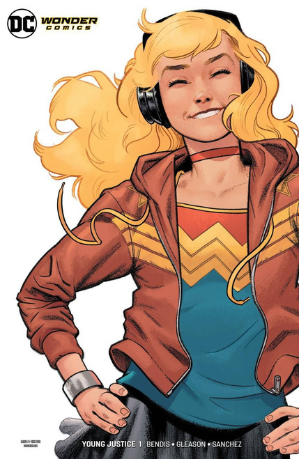 DC Young Justice #1 Comic Book [Shaner Wonder Girl Variant Cover]