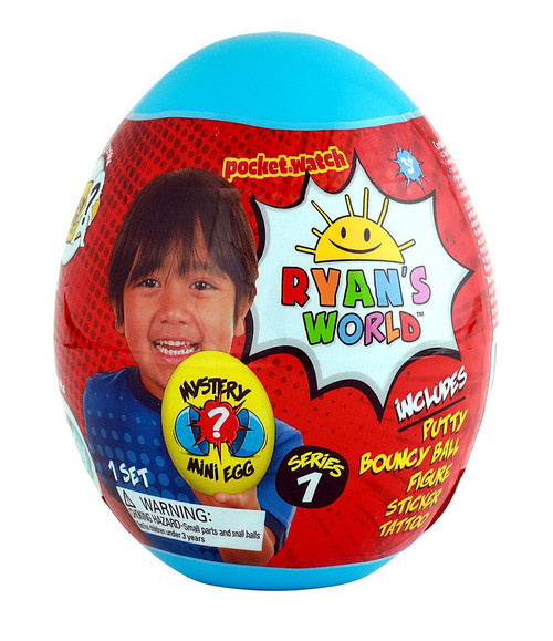 Ryan's World Series 1 MINI Egg Mystery Surprise [Blue]