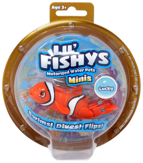 Lil' Fishys Minis Lucky Motorized Water Pet