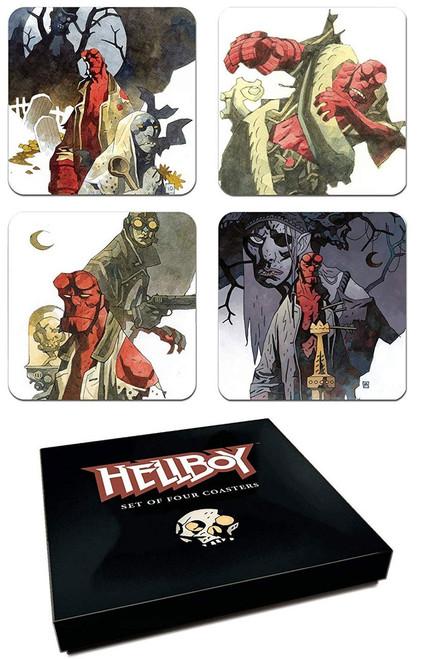 Hellboy Coaster 4-Pack