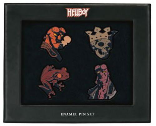 Hellboy Enamel Pin Set