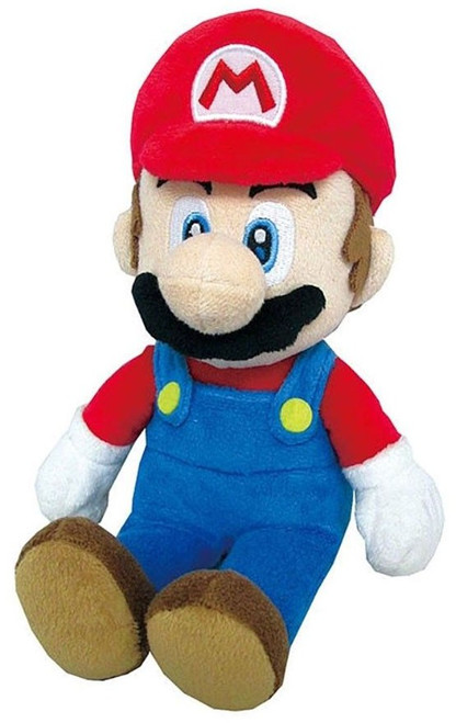 Super Mario All Star Collection Mario 9-Inch Plush