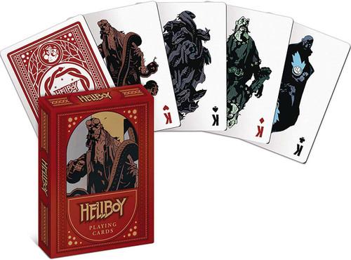 Hellboy Playing Card Deck