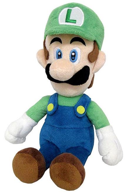 Super Mario All Star Collection Luigi 10-Inch Plush