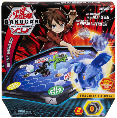 Bakugan Battle Planet Battle Brawlers Bakugan Battle Arena