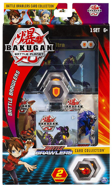 Bakugan Battle Planet Battle Brawlers Nillious Card Collection