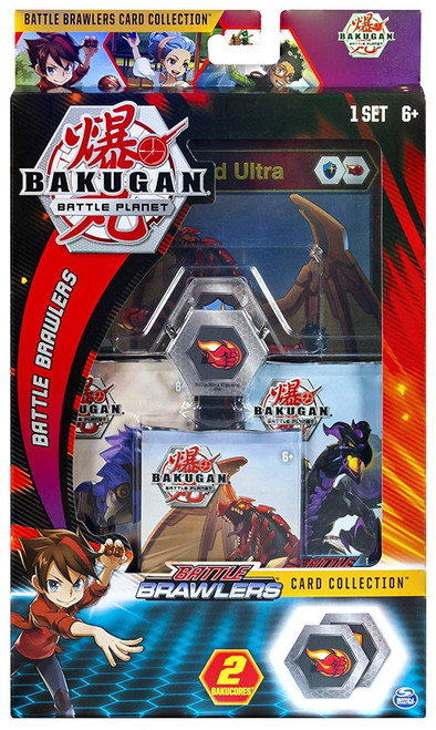 Bakugan Battle Planet Battle Brawlers Dragonoid Card Collection