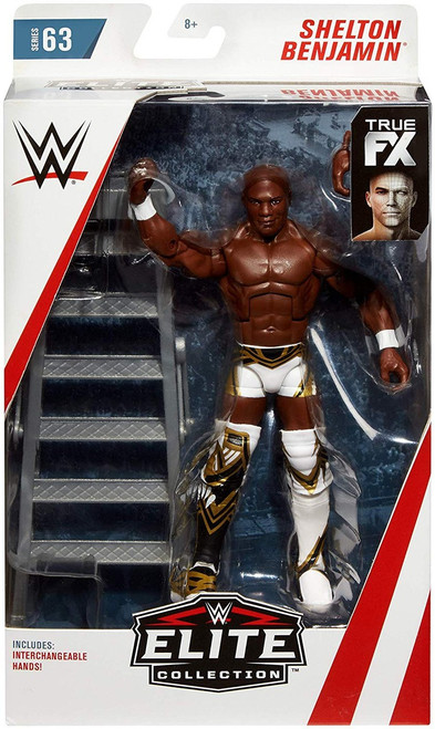 WWE Wrestling Elite Collection Series 63 Shelton Benjamin Action Figure