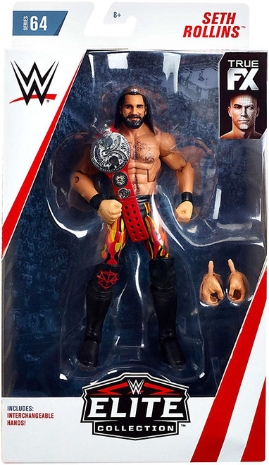 WWE Wrestling Elite Collection Series 64 Seth Rollins Action Figure [Interchangeable Hands]