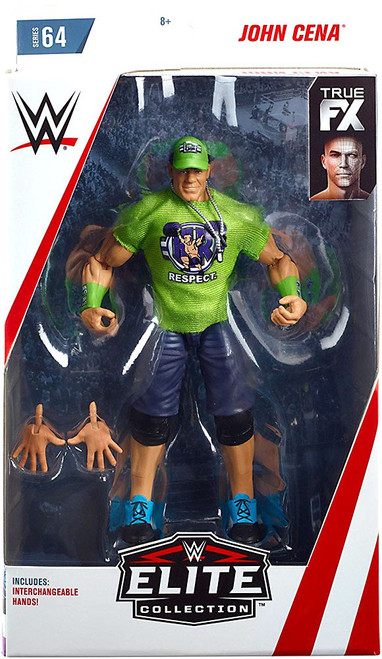 WWE Wrestling Elite Collection Series 64 John Cena Action Figure [Interchangeable Hands]