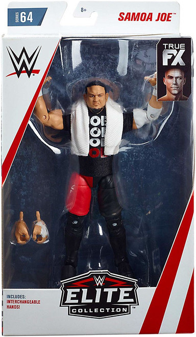 WWE Wrestling Elite Collection Series 64 Samoa Joe Action Figure [Interchangeable Hands]