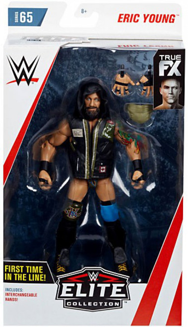 WWE Wrestling Elite Collection Series 65 Eric Young Action Figure