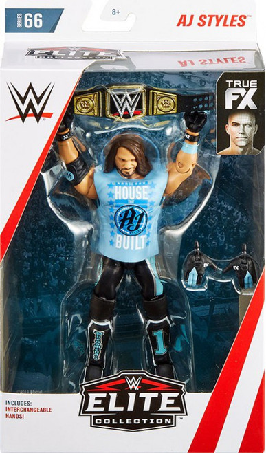 WWE Wrestling Elite Collection Series 66 AJ Styles Action Figure