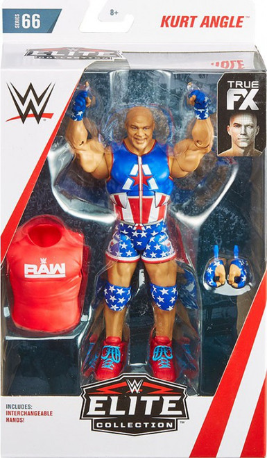 WWE Wrestling Elite Collection Series 66 Kurt Angle Action Figure