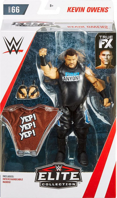 WWE Wrestling Elite Collection Series 66 Kevin Owens Action Figure