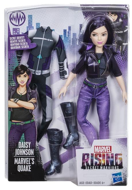 Marvel Rising Secret Warriors Secret Identity Quake Action Figure