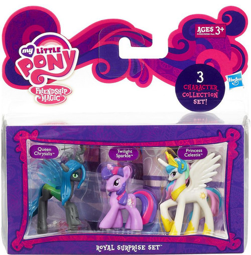My Little Pony Friendship is Magic Character Collection Sets Royal Surprise Figure Set