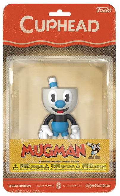 Funko Cuphead Mugman Action Figure