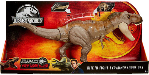 Jurassic World Fallen Kingdom Dino Rivals Bite 'N Fight Tyrannosaurus Rex Action Figure