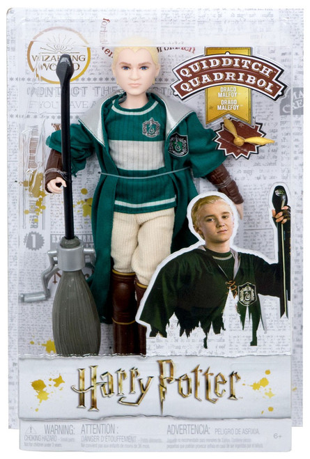 Harry Potter Wizarding World Draco Malfoy 11-Inch Doll [Quidditch]