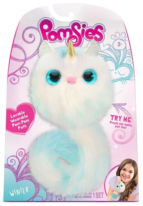 Pomsies Winter Unicorn Plush Toy