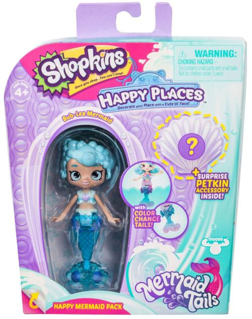 Shopkins Happy Places Season 6 Mermaid Tails Bub-Lea Mermaid Happy Mermaid Pack