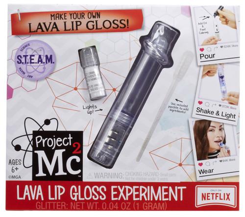 Project MC2 Lava Lip Gloss Experiment