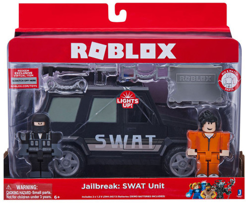 Roblox Jailbreak: SWAT Unit 3-Inch Figure Set